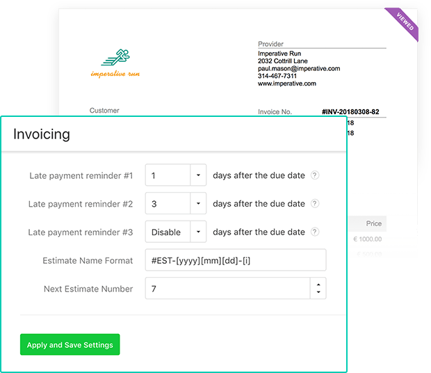 payment reminders