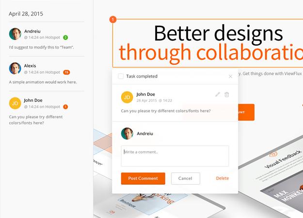 ViewFlux interface