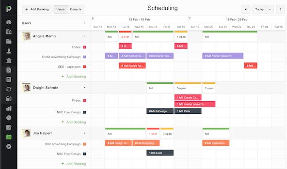 Paymo Resource Scheduling