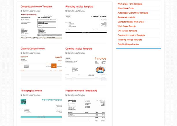 Invoice Template Hub