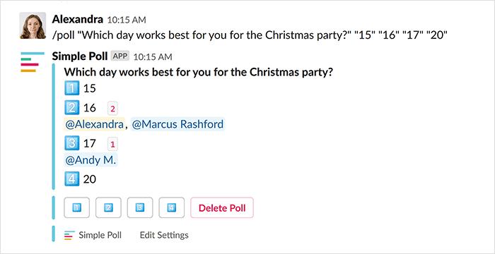 simple poll