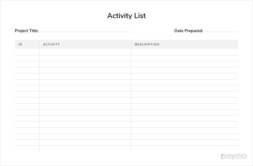 Activity-list