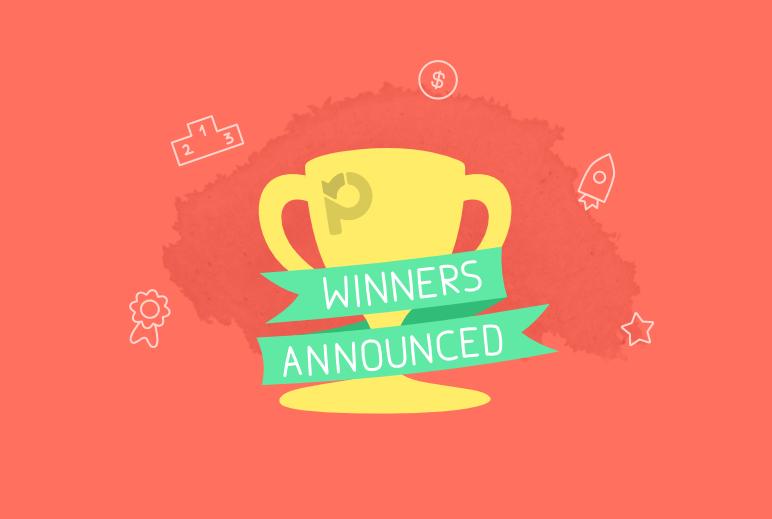 Vencedores da campanha de depoimentos de Paymo • Paymo 4