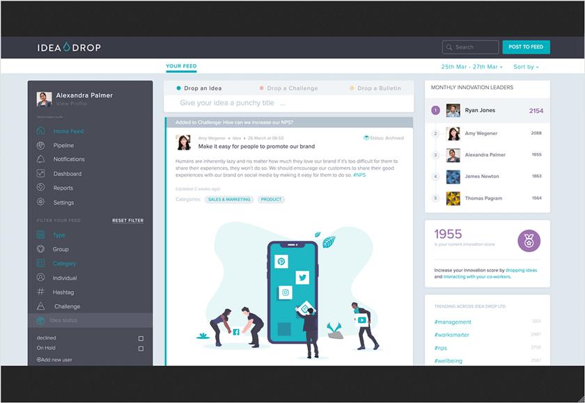 IdeaDrop screenshot