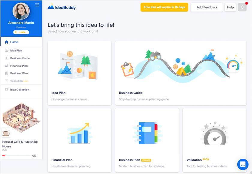 Ideabuddy screenshot