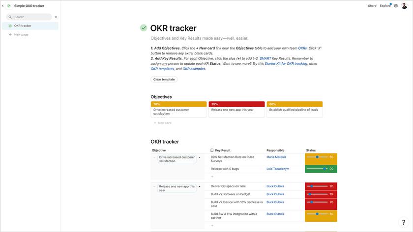Coda Task Management Software